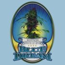 Blue Dream Marijuana strain Art by kushcoast