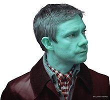 Edited Stock Photo of John Watson by Zorxas