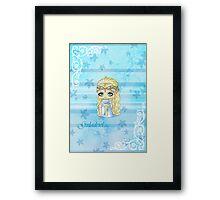Chibi Galadriel Framed Print