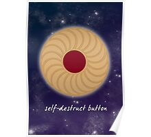Doctor Who - Self-Destruct Button Poster