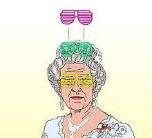 Cool Down - Queen Elizabeth II by Morgan Ralston