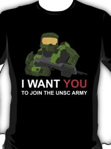 Master Chief wants you for UNSC T-Shirt