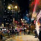 Night in the City by John Rivera
