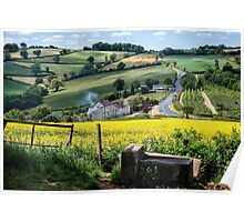Midsummer Smoke In An English Valley Poster