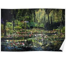 Monet's Lily Pond Poster