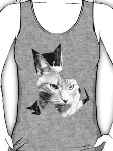 Black & White Cat Photo  T-Shirt