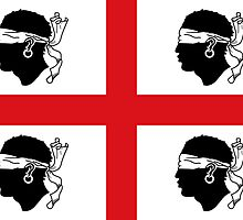 Traditional Flag of Sardinia  by abbeyz71