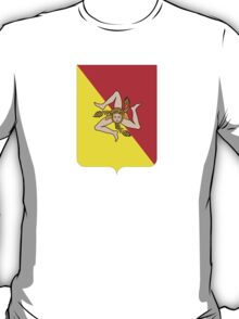 Coat of arms of Sicily T-Shirt