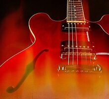 Gibson ES-335 On Fire by koping