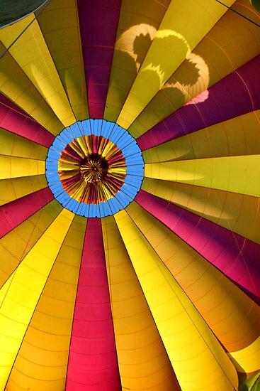 Hot air balloon. Interior by andreisky