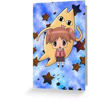 Chibi Chiyo Greeting Card