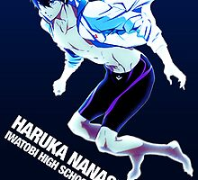 Haruka Nanase from Free! by cesie