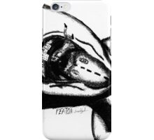 Pedestrian - mouth iPhone Case/Skin