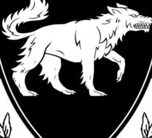 Stark University (Black) Sticker