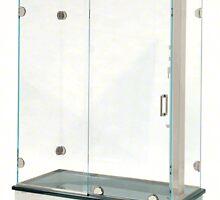 HeaderLess Sliding Door by showerdoorsnyc