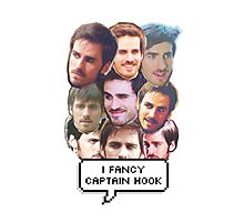 I fancy Captain Hook Photographic Print