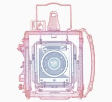Vintage Photography - Graflex (Multi-colour) by brainsontoast
