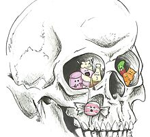 Skull Kandy  by gemsville