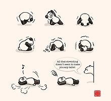 That's a funny yoga 2 by Panda And Polar Bear