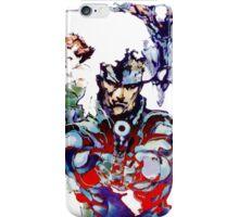 Metal Gear  iPhone Case/Skin