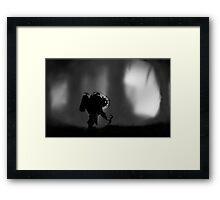 Limbo & Bioshock  Framed Print