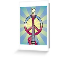 Tribute to Woodstock Greeting Card