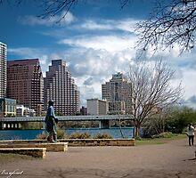 Austin Texas Skyline by AliceBurghart
