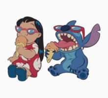 Lilo and Stitch eating Kids Clothes