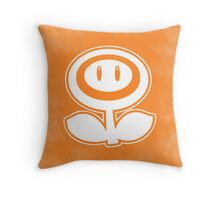 Fireflower - Minimalist Throw Pillow