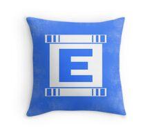 Blue Bomber - Minimalist Throw Pillow
