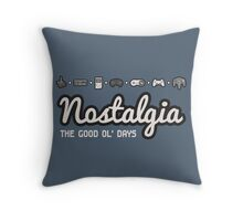 Nostalgia - The Good Ol' Days Throw Pillow
