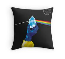 The Dark Side of the Meth Throw Pillow
