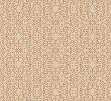 Posh Beige Pattern by Lisann