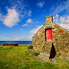 Fishermans Croft  Milovaig Isle of Skye by Chris Thaxter