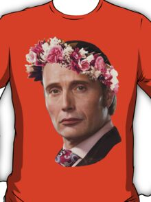 Hannibal Lecter Flower Crown T-Shirt