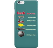 Vehicles. Simpsons, flinstones, dragonball, back to the future and star wars. iPhone Case/Skin