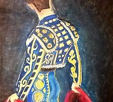 Matador in Oil Pastel by perezinla