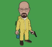 Walter White Breaking Bad by gcartersdesigns