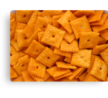 Cheez Its Canvas Print