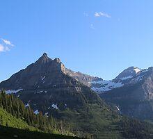 Mount Oberlin - Glacier National Park by dlyle