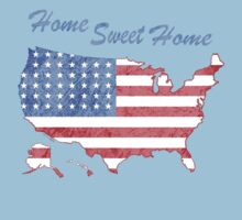 America Home Sweet Home Kids Clothes