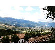 The mountains of Abruzzo Photographic Print