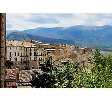 Pacentro, Abruzzo Photographic Print