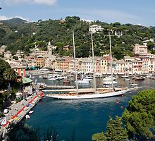 Portofino, Liguria, Italy by Amber Elen-Forbat