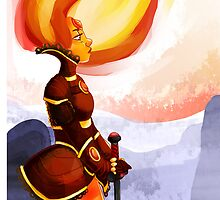 Warrior Flame Princess by zzazunicorn