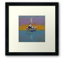 Panda Lake Framed Print