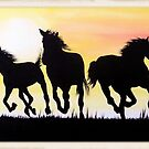 """""""Wild Horses"""" by jansimpressions"""