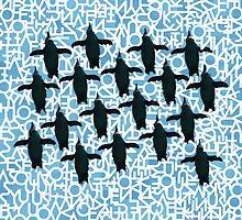 Penguin 1 by Michael Kienhuis