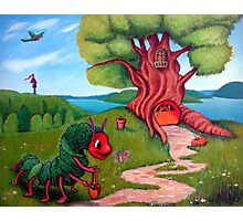 The Very Hungry Caterpillar All Grown Up Photographic Print