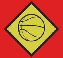 Warning Basketball sign T-Shirt
